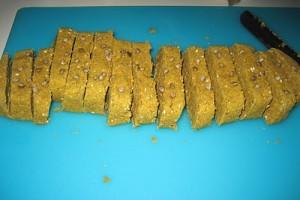 Double Baked Veggie Biscotti